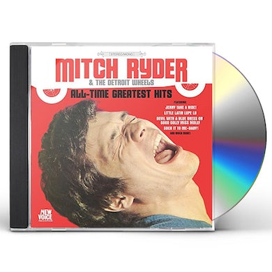 Mitch Ryder ALL-TIME GREATEST HITS CD