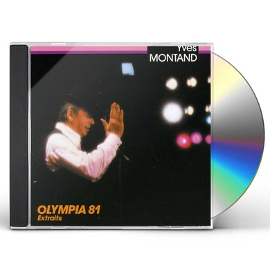 Yves Montand OLYMPIA 81: EXTRAITS CD