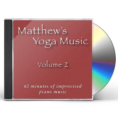 Matt Johnson MATTHEW'S YOGA MUSIC 3 CD