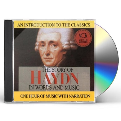 Haydn HIS STORY & HIS MUSIC CD