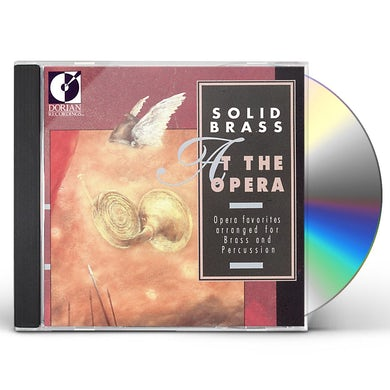 SOLID BRASS AT THE OPERA CD