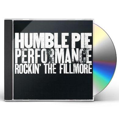 Humble Pie ROCKIN THE FILLMORE CD