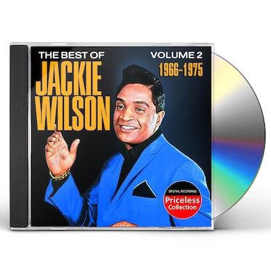 Jackie Wilson BEST OF 2 1966-1975 CD