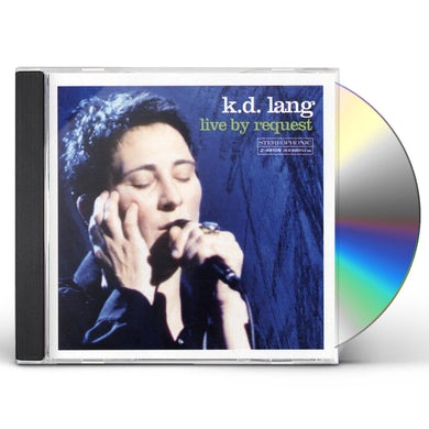 K.D. Lang LIVE BY REQUEST CD
