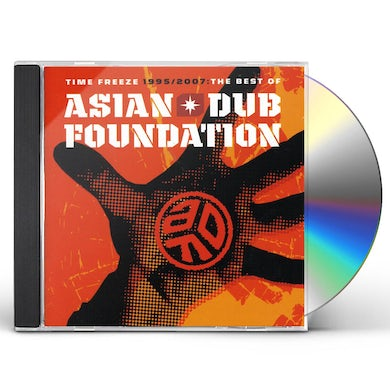 Asian Dub Foundation TIME FREEZE: THE BEST OF CD
