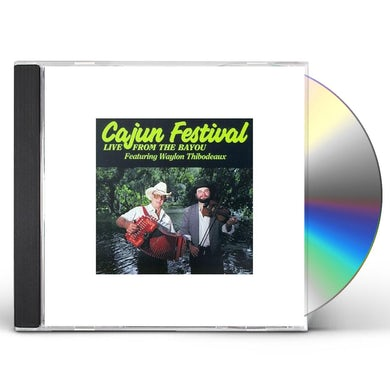 Waylon Thibodeaux CAJUN FESTIVAL CD