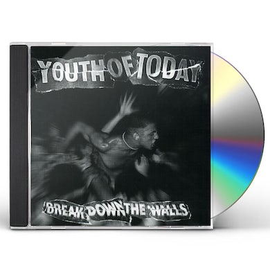 Youth of Today BREAK DOWN THE WALLS CD