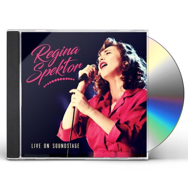 Regina Spektor LIVE ON SOUNDSTAGE CD