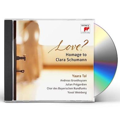 LOVE HOMAGE TO CLARA SCHUMANN CD