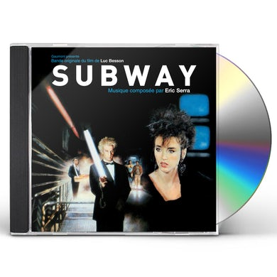 Eric Serra SUBWAY / Original Soundtrack CD
