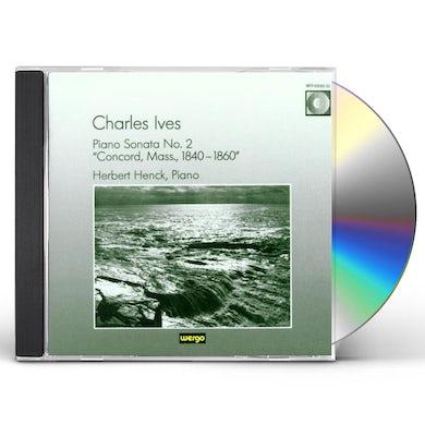 IVES PIANO SONATA NO.2. CD
