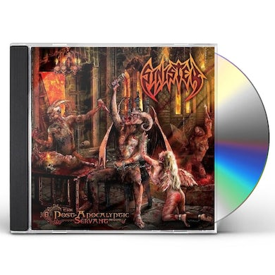 Sinister POST-APOCALYPTIC SERVANT CD
