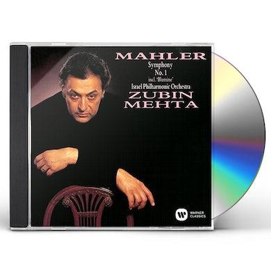 Zubin Mehta MAHLER: SYMPHONY NO. 1 INCL. 'BLUMINE CD