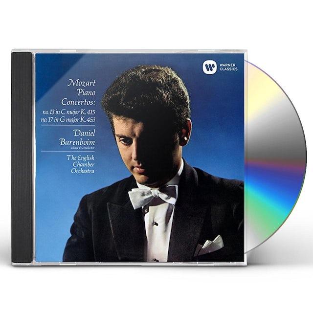 Daniel Barenboim MOZART: PIANO CONCERTOS NOS. 13 & 17 CD