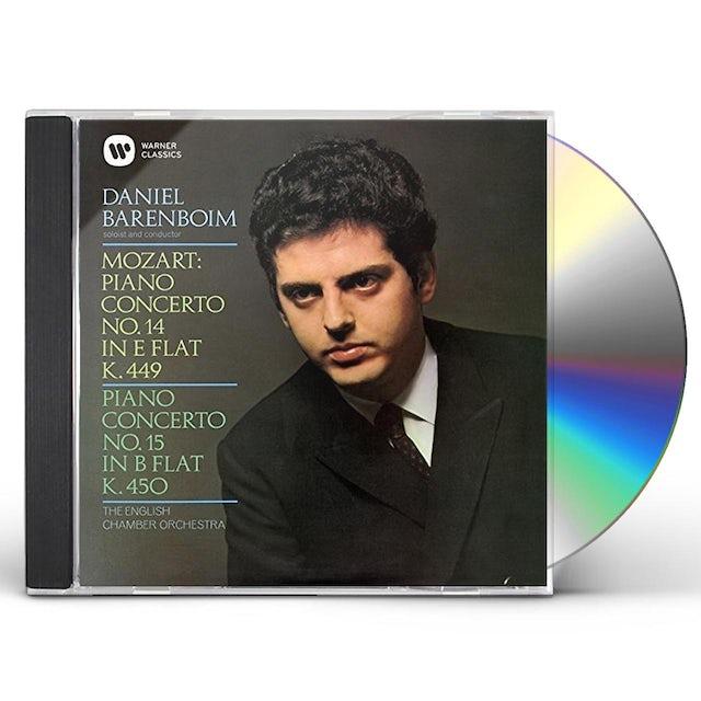 Daniel Barenboim MOZART: PIANO CONCERTOS NOS. 14 & 15 CD