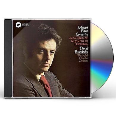 Daniel Barenboim MOZART: PIANO CONCERTOS NOS. 6 & 26 CD