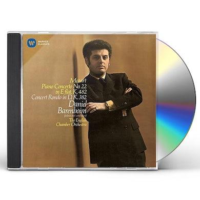 Daniel Barenboim MOZART: PIANO CONCERTO NP. 22 & CONCE CD