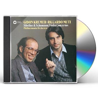 SCHUMANN & SIBELIUS: VIOLIN CONCERTO CD