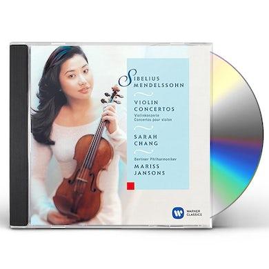 Sarah Chang MENDELSSOHN: VIOLIN CONCERTO NO. 1 & CD