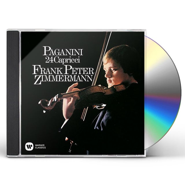 Frank Peter Zimmermann PAGANINI: CAPRICES. OP. 1 CD