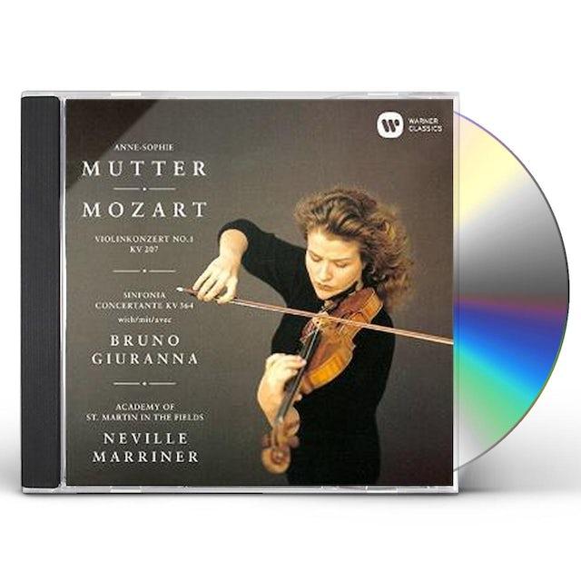 Anne-Sophie Mutter MOZART: VIOLIN CONCERTO NO. 1 SINFON CD