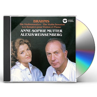 Anne-Sophie Mutter BRAHMS: VIOLIN SONATAS CD