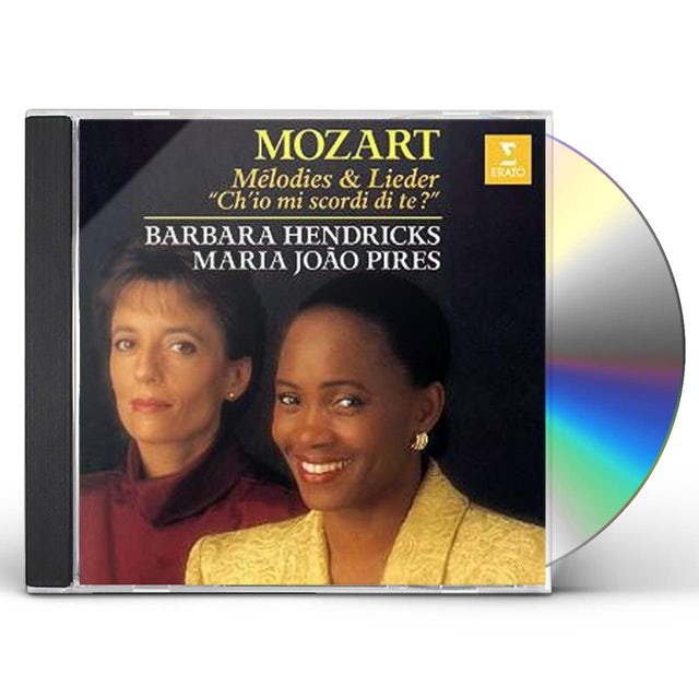 Barbara Hendricks MOZART: LIEDER CD