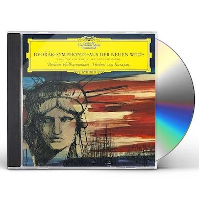 Herbert Von Karajan  DVORAK: SYMPHONY NO.9 'FROM THE NEW WORLD CD