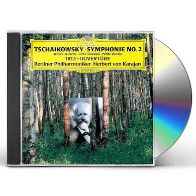 Herbert Von Karajan  TCHAIKOVSKY: SYMPHONY NO.2. CD