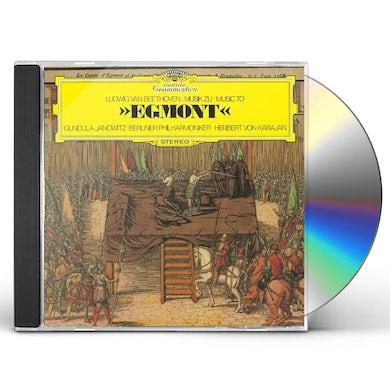 Herbert Von Karajan  BEETHOVEN: EGMONT. ETC. CD