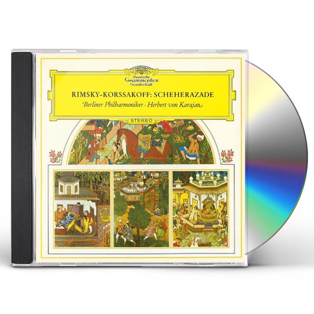 Herbert Von Karajan R.KORSAKOV: SCHEHERAZADE CD