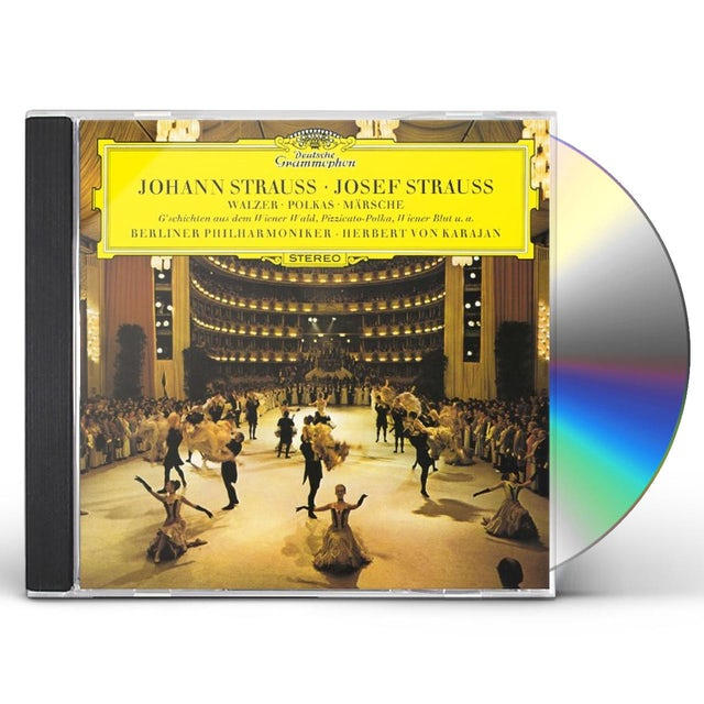 Herbert Von Karajan STRAUSS CONCERT VOL.2 CD