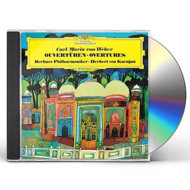 Herbert Von Karajan  WEBER: OVERTURES CD