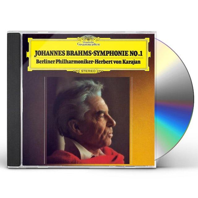 Herbert Von Karajan BRAHMS: SYMPHONY NO.1 CD
