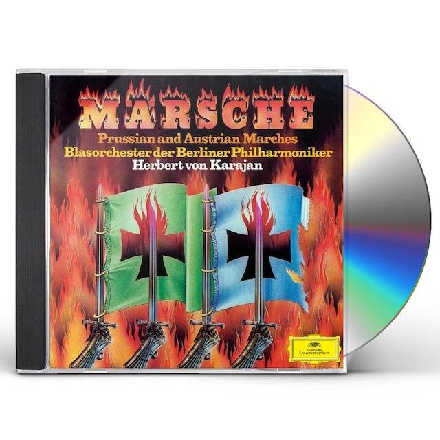 Herbert Von Karajan GERMAN MARCHES CD