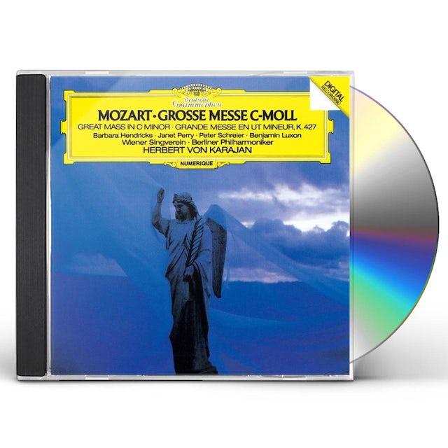Herbert Von Karajan MOZART: MESSE C-MOLL CD