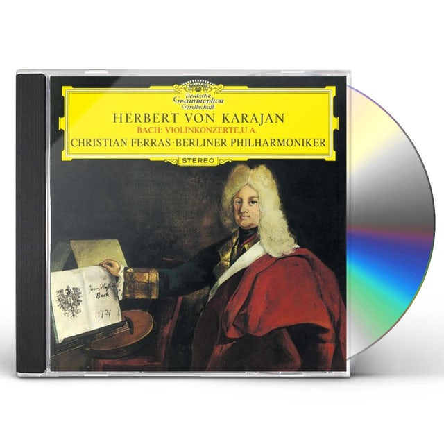 Herbert Von Karajan J.S.BACH: VIOLIN CONCERTOS CD
