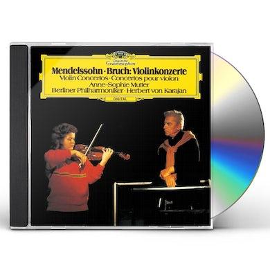 Herbert Von Karajan  MENDELSSOHN & BRUCH: VIOLIN CONCERTO CD