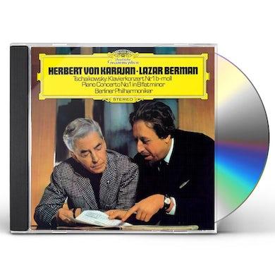 Herbert Von Karajan  TCHAIKOVSKY: PIANO CONCERTO NO.1. CD