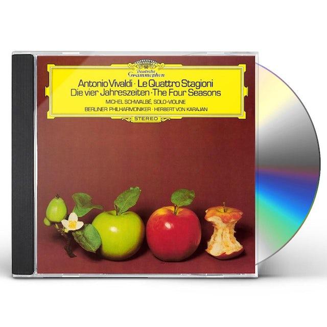 Herbert Von Karajan VIVALDI: THE FOUR SEASONS CD