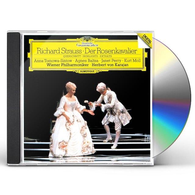 Herbert Von Karajan R.STRAUSS: DER ROSENKAVALIER (EXCERPT) CD