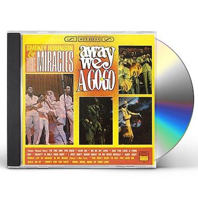 Smokey Robinson AWAY WE A GO-GO CD