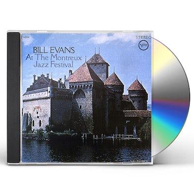 Jack DeJohnette BILL EVANS: AT THE MONTREUX JAZZ FESTIVAL CD