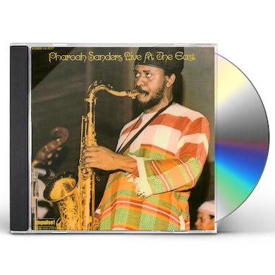 Pharoah Sanders LIVE AT THE EAST CD