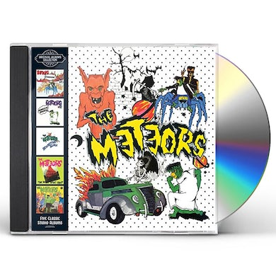 The Meteors ORIGINAL ALBUMS COLLECTION CD