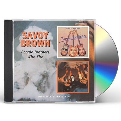 Savoy Brown BOOGIE BROTHER / WIRE FIRE CD