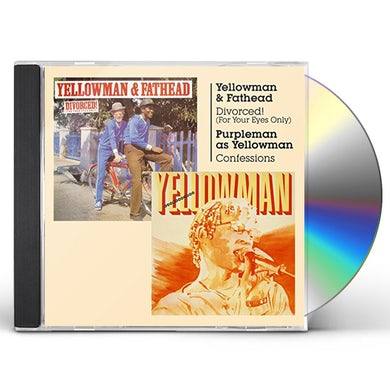 Yellowman DIVORCED (FOR YOUR EYES ONLY) + CONFESSIONS CD