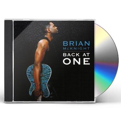 Brian Mcknight BACK AT ONE CD