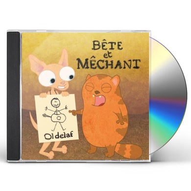 Oldelaf BETE ET MECHANT CD