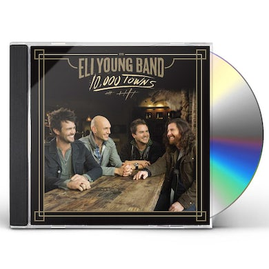 Eli Young Band 10,000 TOWNS CD